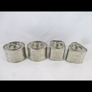 Vintage canisters set of 4
